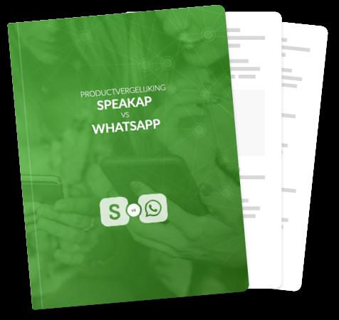 WhatsApp vs Speakap