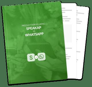 Productvergelijking Speakap vs WhatsApp