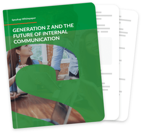 Generation Z and the future of internal communication cover