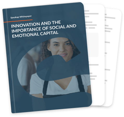 Innovation and the importance of social and emotional capital cover
