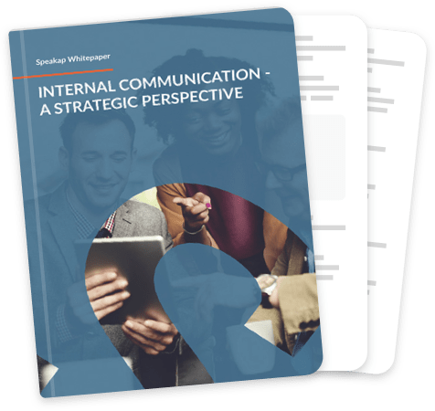 Internal communication - A strategic perspective cover
