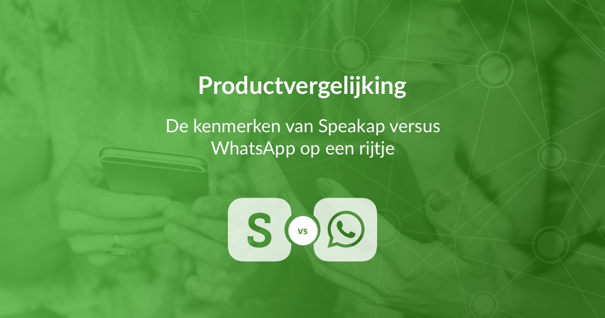 Speakap vs. WhatsApp